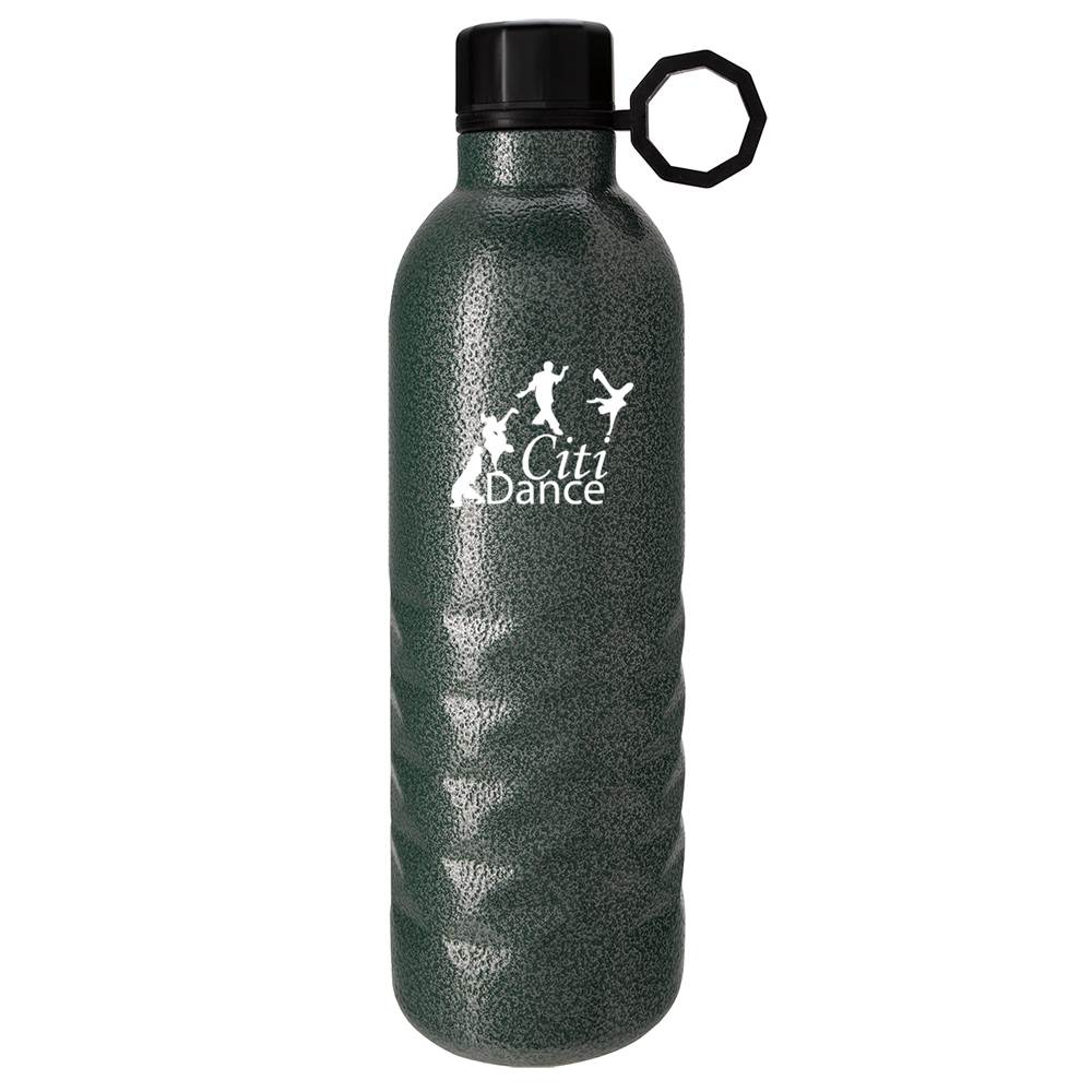 Arlington Hammered Stainless Steel Bottle 17-Oz. - Personalization Available