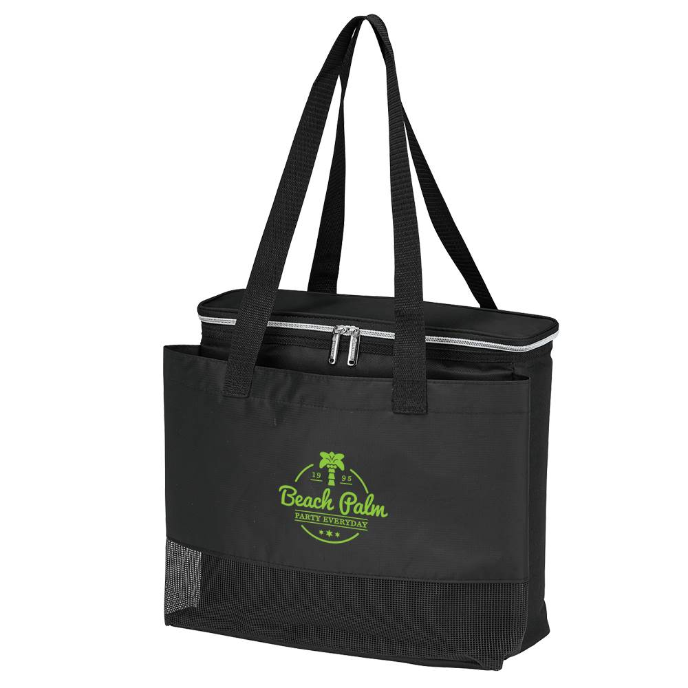 Sunset Cooler Tote Bag - Personalization Available