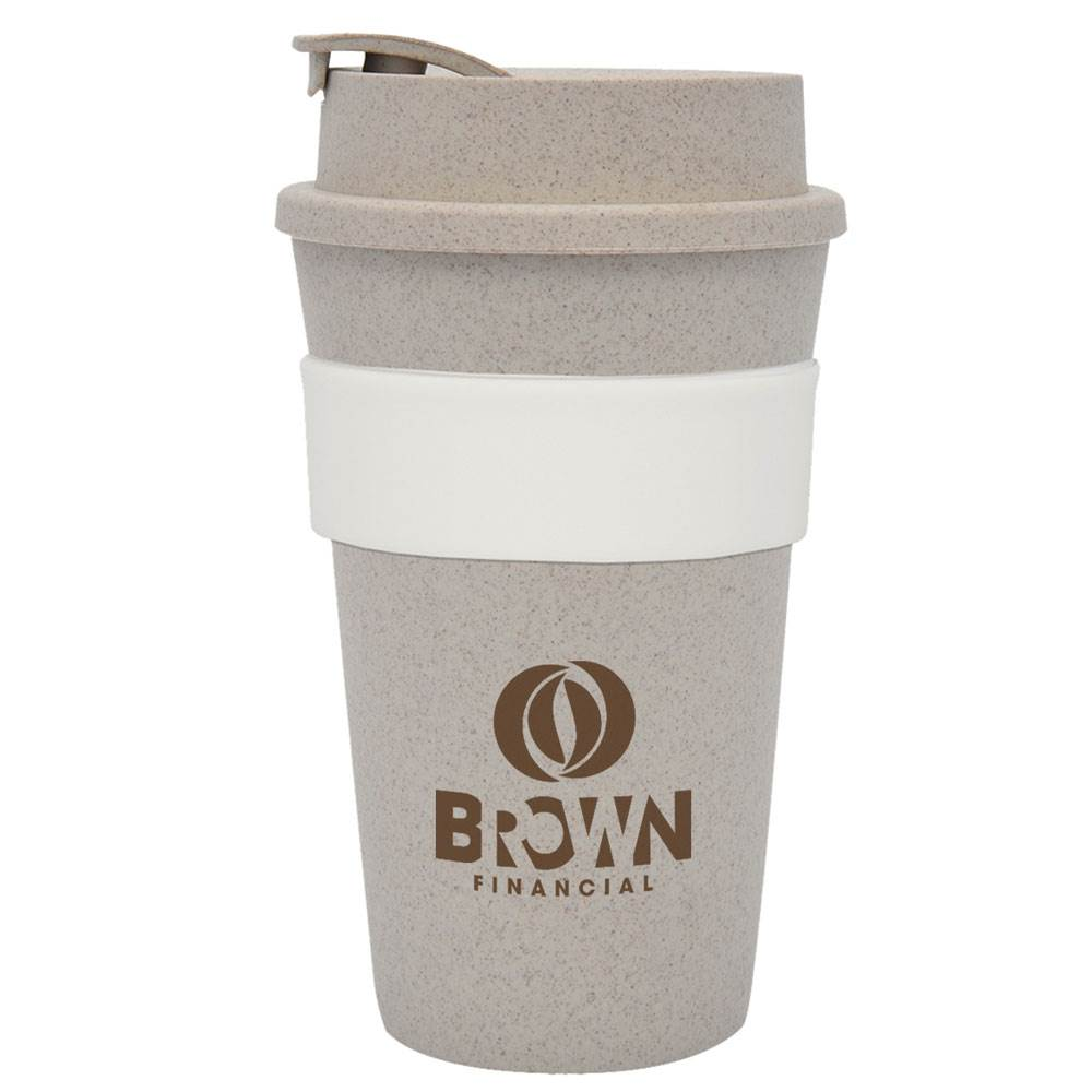 Wheat Travel Tumbler 16-Oz. - Personalization Available