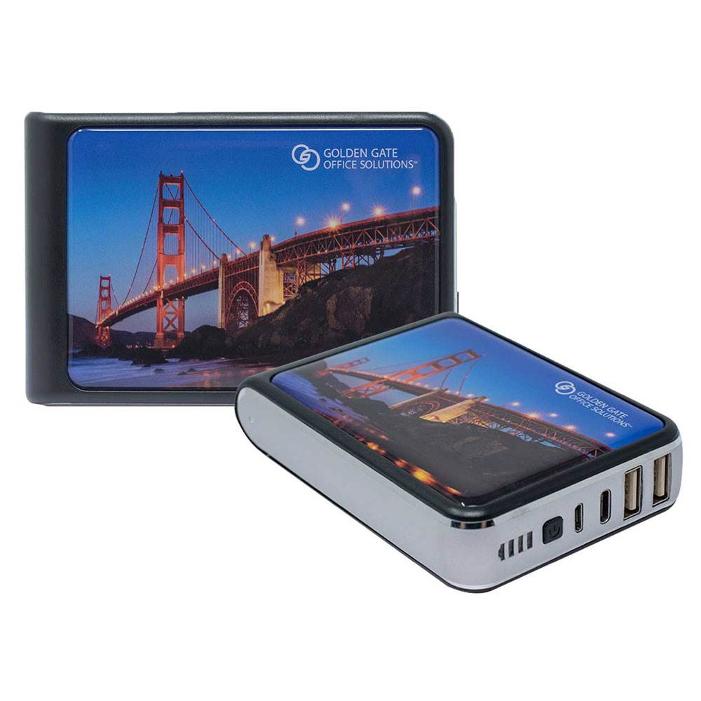 Tenfour® 2.0 10,400 mAh Power Bank - Personalization Available