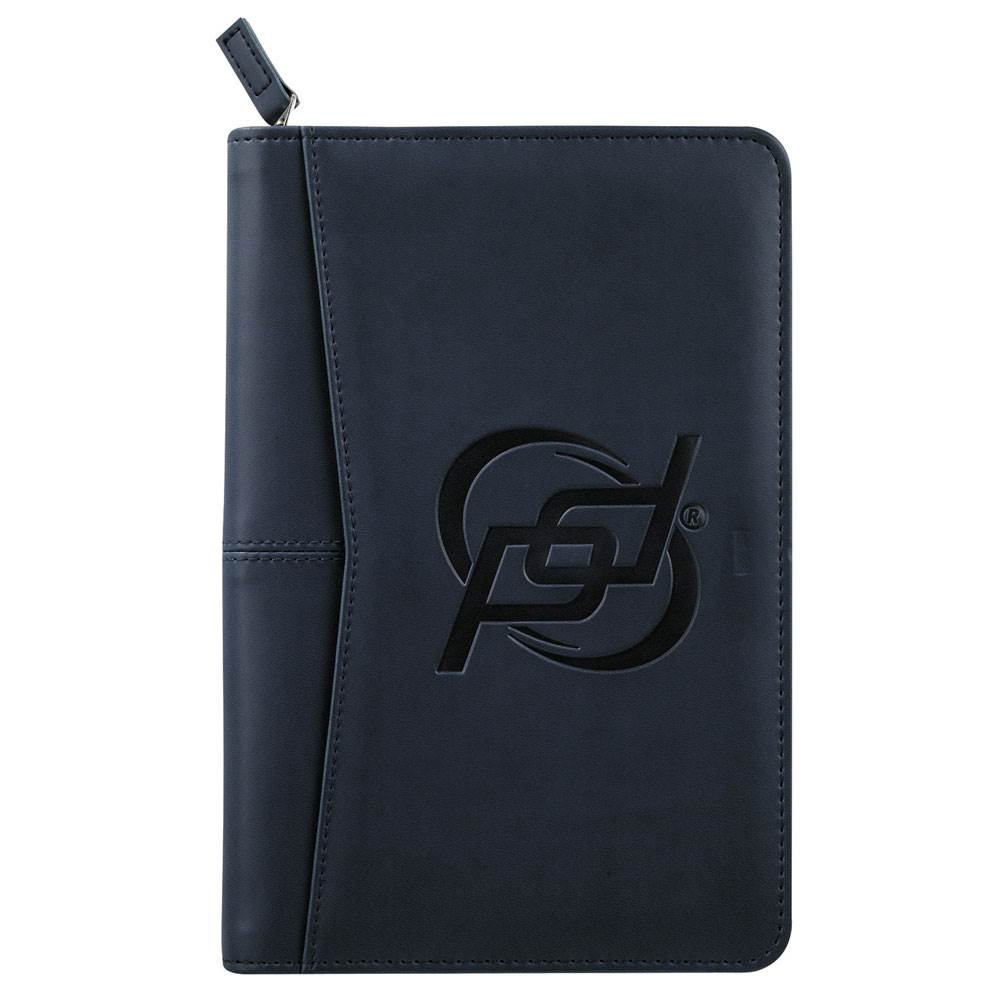 Junior Executive Zippered Padfolio - Debossed Personalization Available