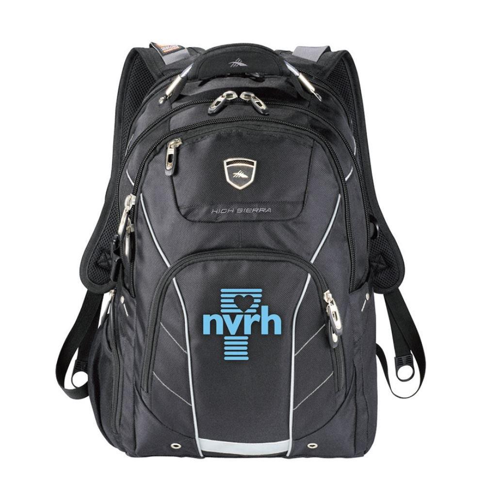 High Sierra Elite Fly-By Computer Backpack 17
