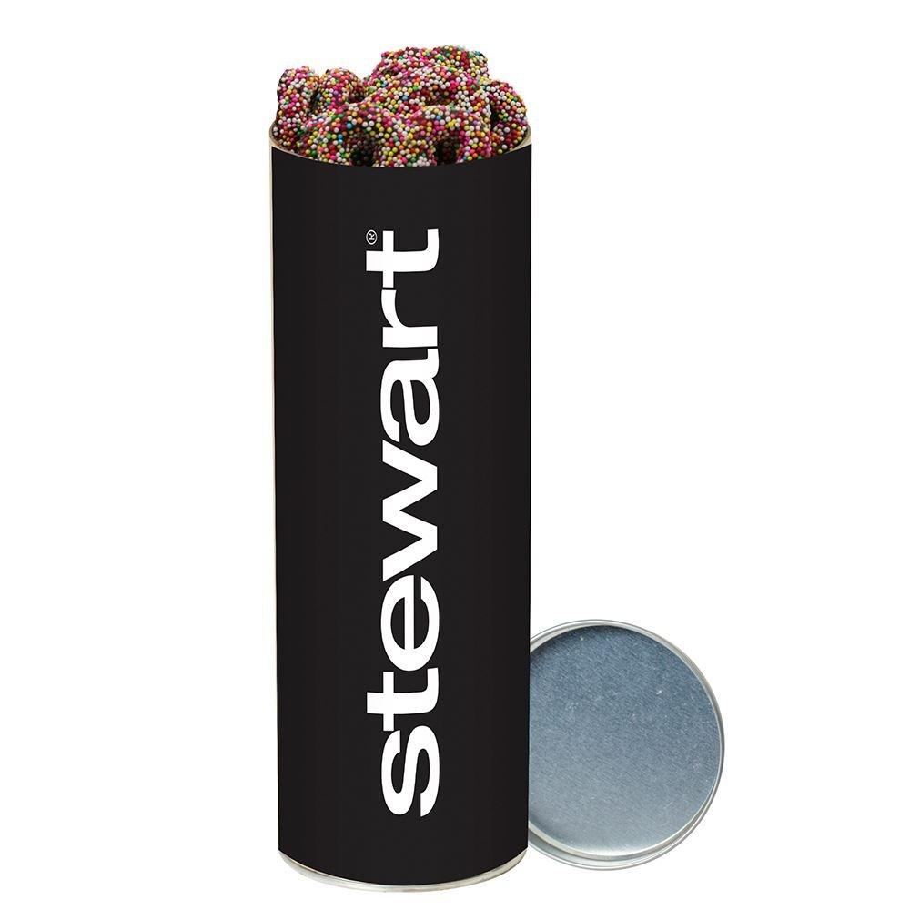 Sprinkle Pretzel Snack Tube - Personalization Available