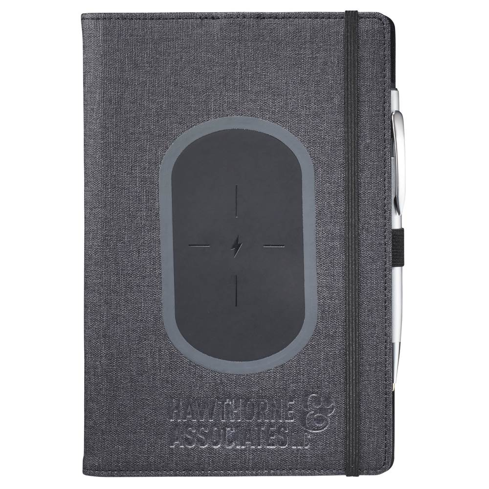 Walton Wireless Charging Refillable JournalBook - Personalization Available