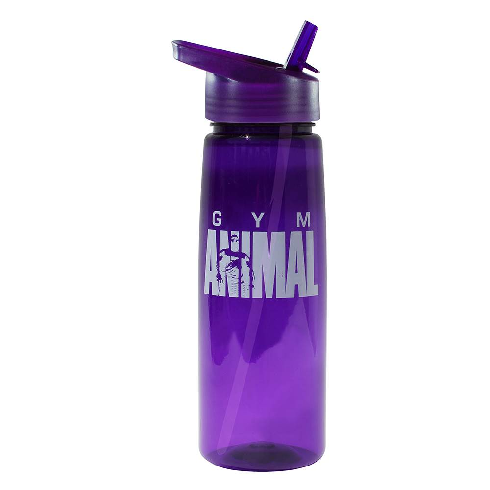 Poly-Saver PET Bottle with Straw Cap 30-Oz. - One-Color Personalization Available