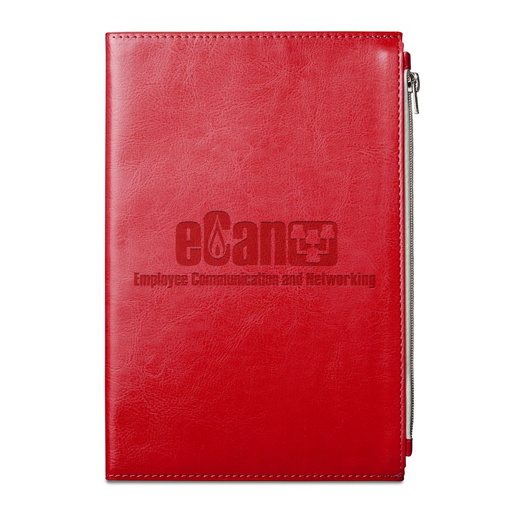 Element Softbound Journal With Zipper Pocket - Debossed Personalization Available