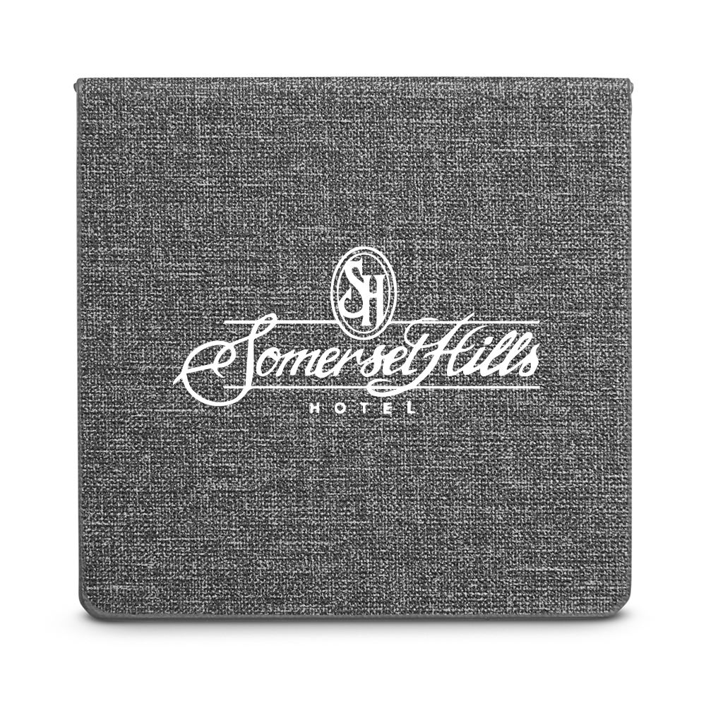 Heathered Sticky Memo Pad Box - Personalization Available