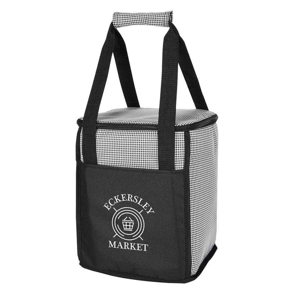 Hunter Houndstooth Cooler Bag - Personalization Available