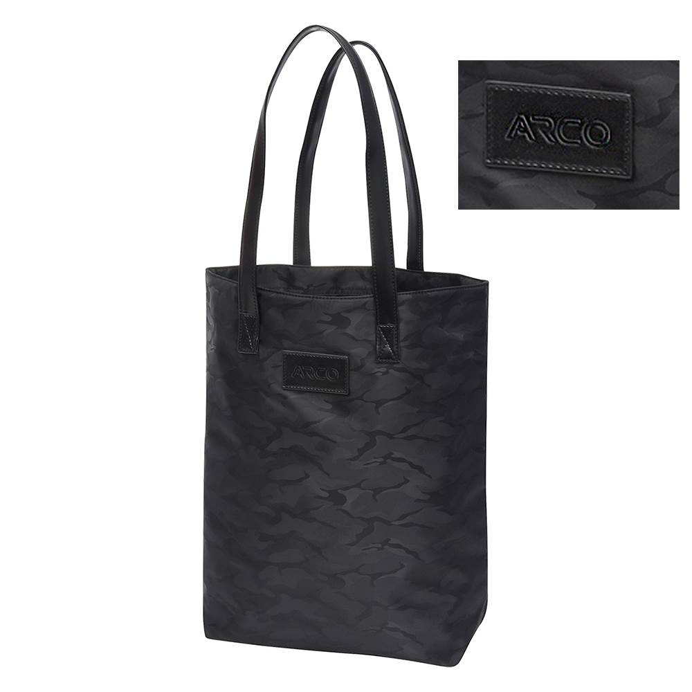 Midnight Camo Tote Bag - Debossed Personalization Available