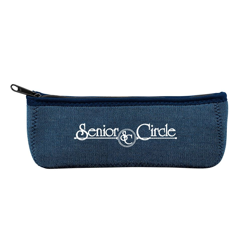 Canoe Denim Neoprene Carrying Case - Personalization Available