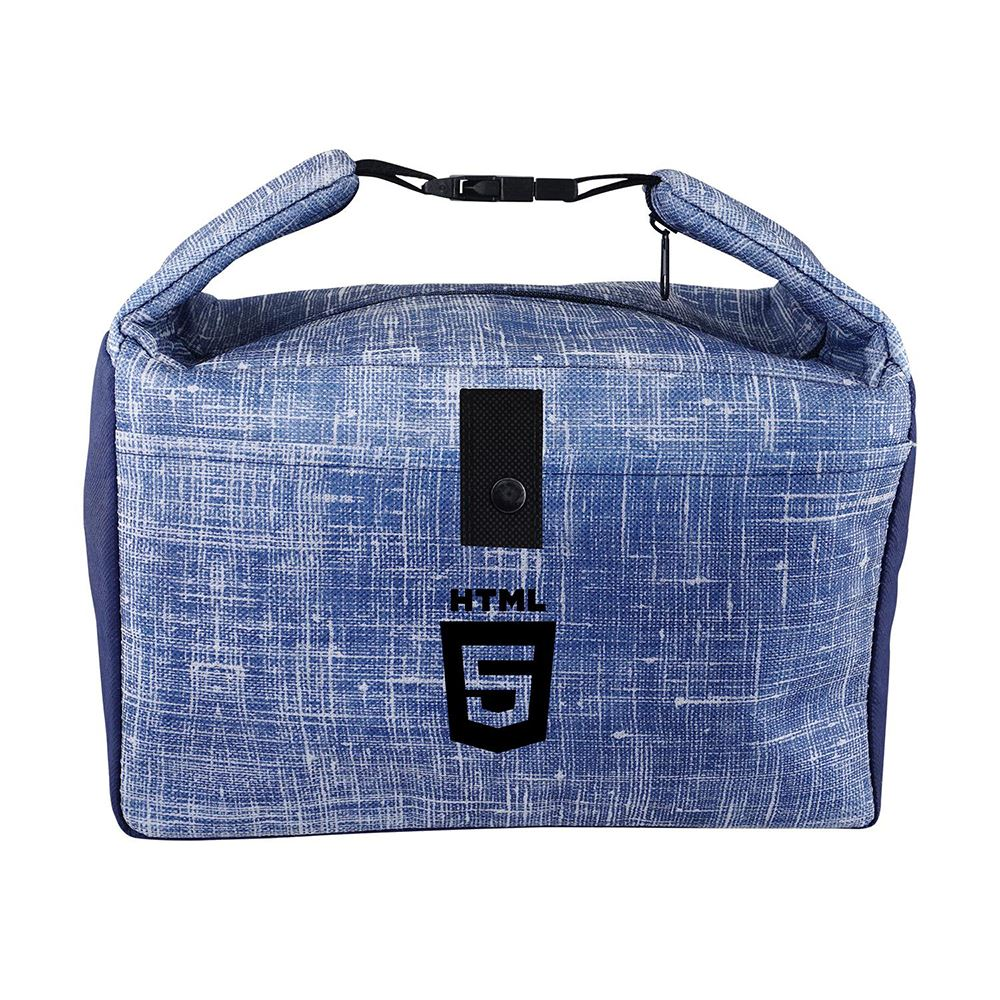 Blue Denim Lunch Cooler - Personalization Available