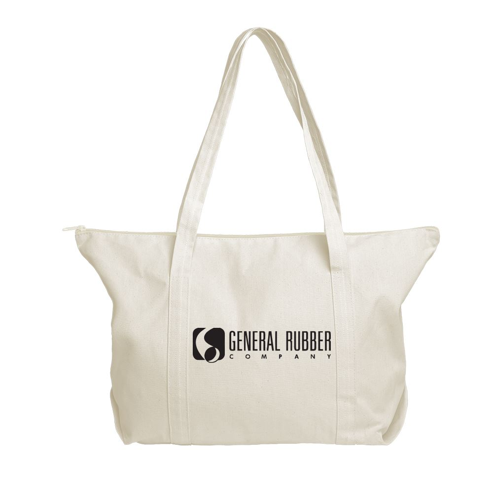 Continued Weekender Tote - Natural Canvas - Personalization Available