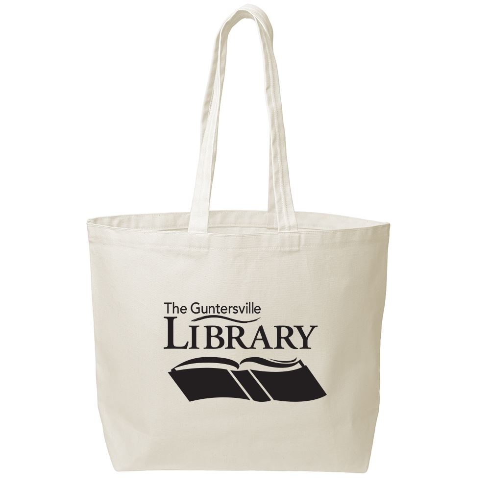 Continued Daily Grind Super-Size Tote - Natural Canvas - Personalization Available