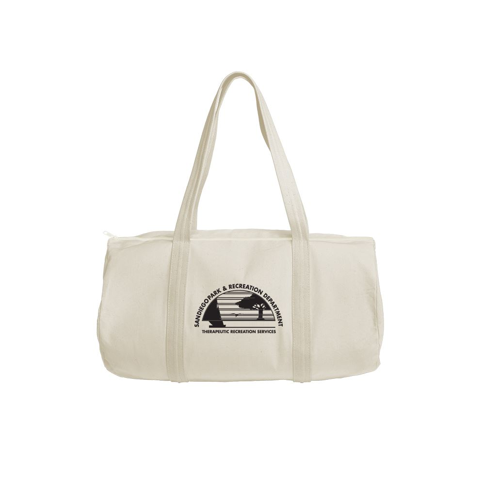 Continued Darling Duffel - Natural Canvas - Personalization Available