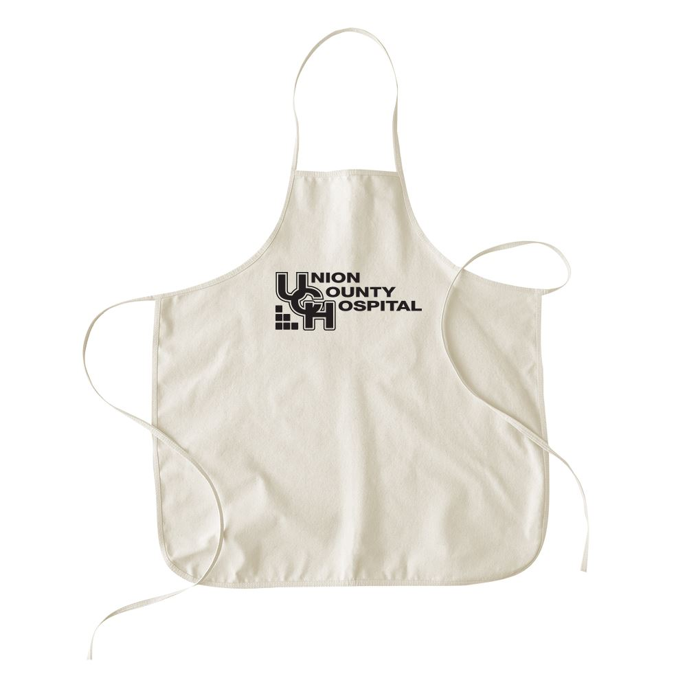 Continued Hot Mess Apron-� Natural Canvas - Personalization Available