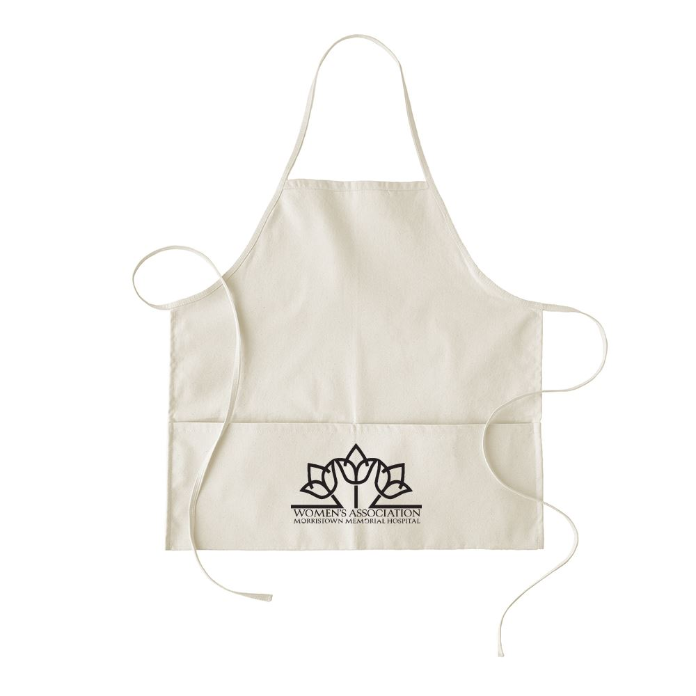 Continued Hot Pockets Apron - Natural Canvas - Personalization Available