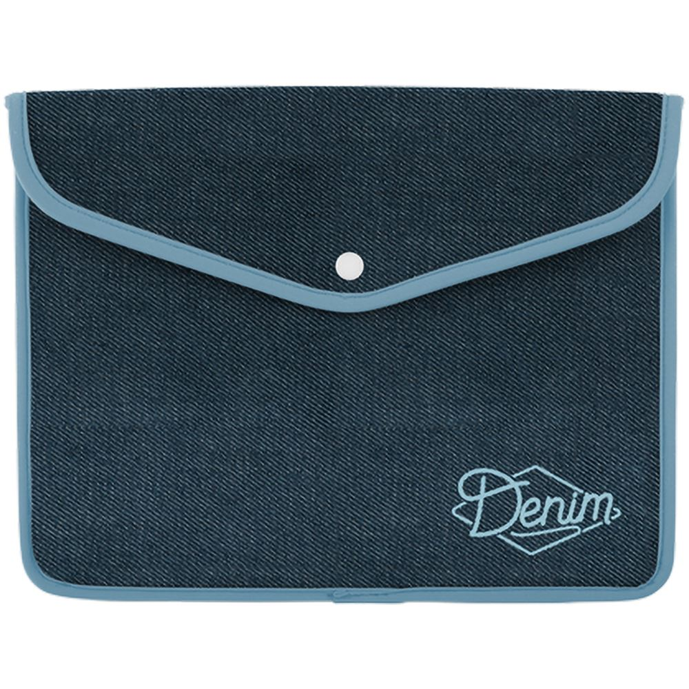 13� Snapfolio Denim Neoprene Sleeve � Personalization Available