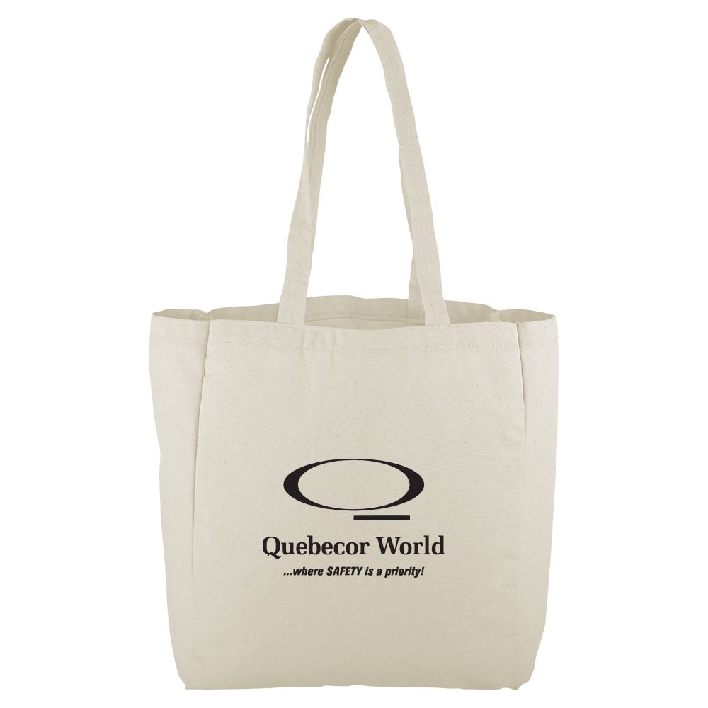 Continued All That Grocery Tote- Natural Canvas - Personalization Available