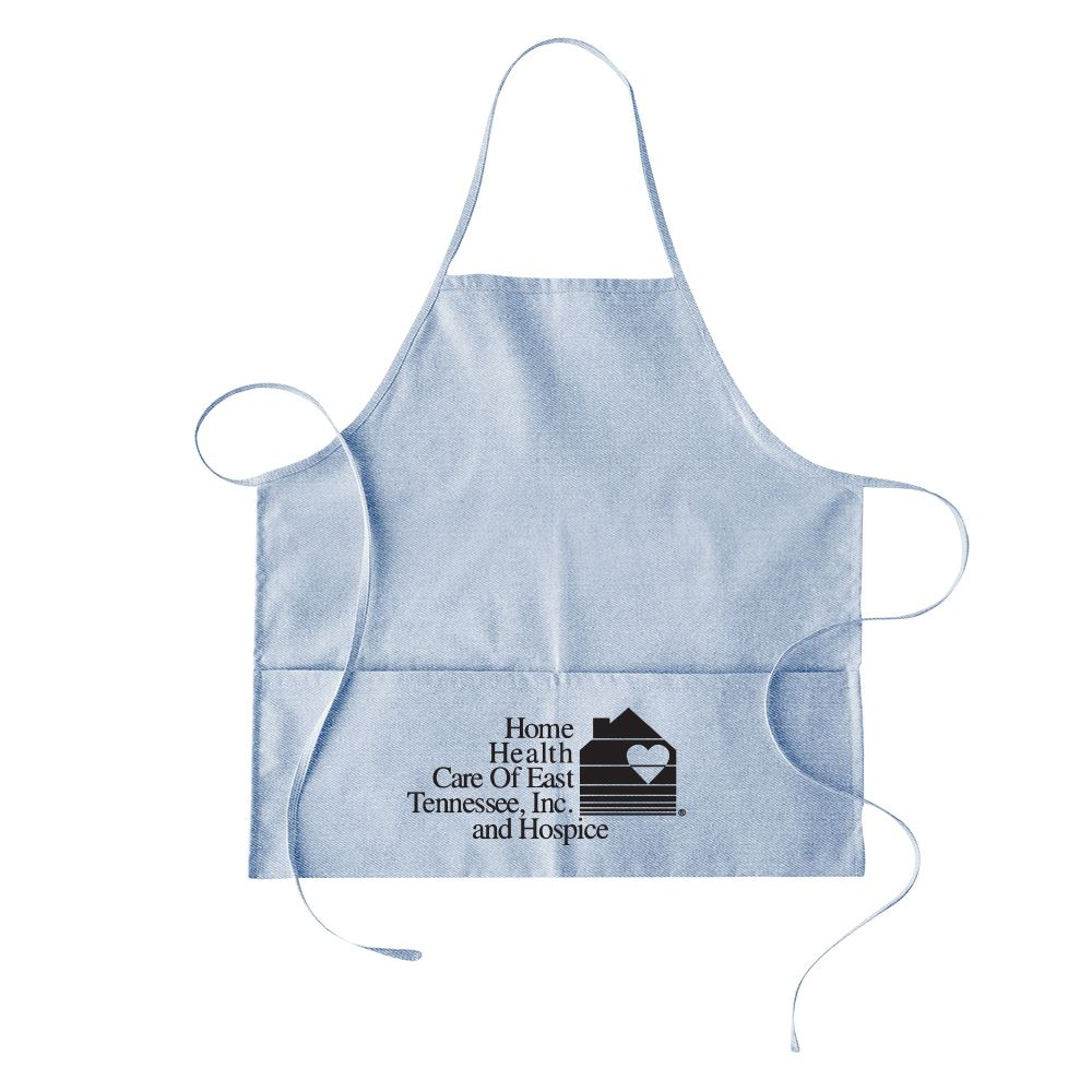 Continued Hot Pockets Apron - Denim Canvas - Personalization Available