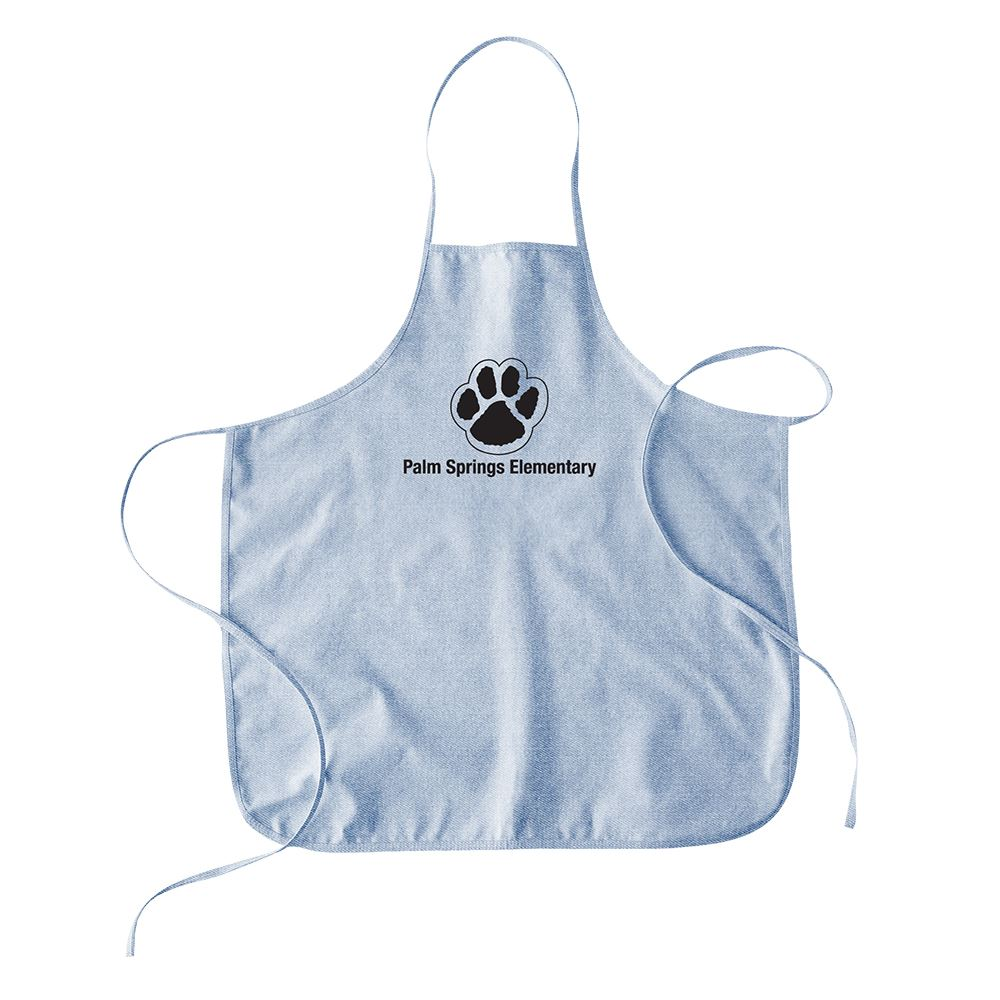 Continued Hot Mess Apron - Denim Canvas - Personalization Available