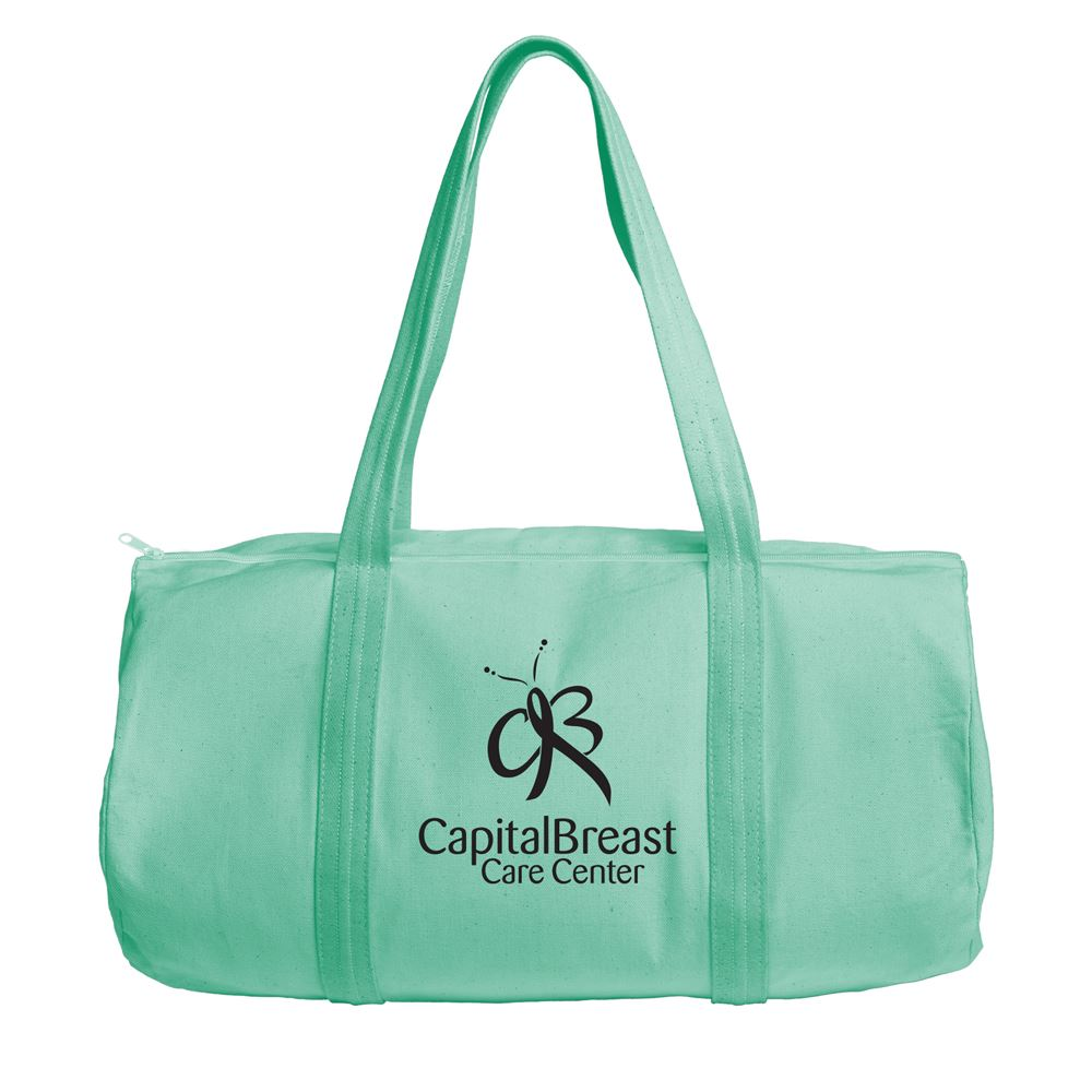 Continued Darling Duffel - Colored Canvas - Personalization Available