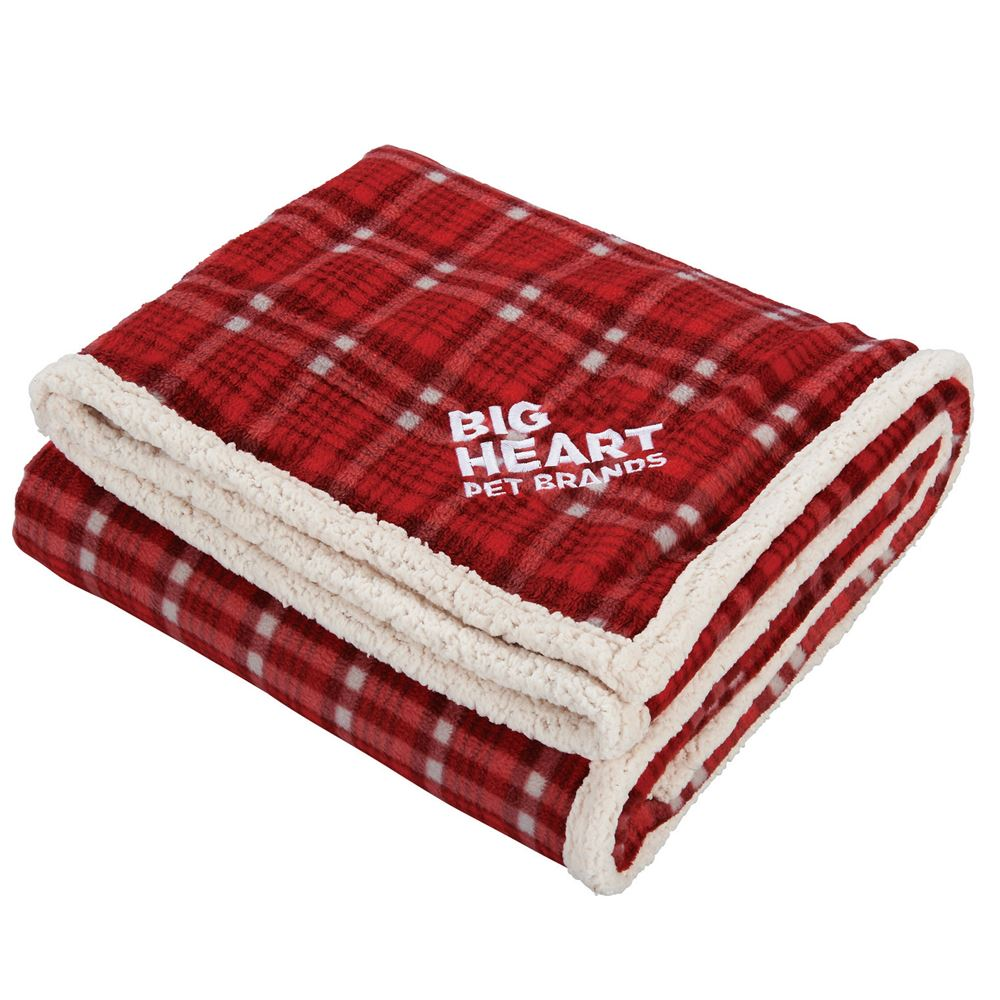 Field & Co.® Plaid Sherpa Blanket - Personalization Available