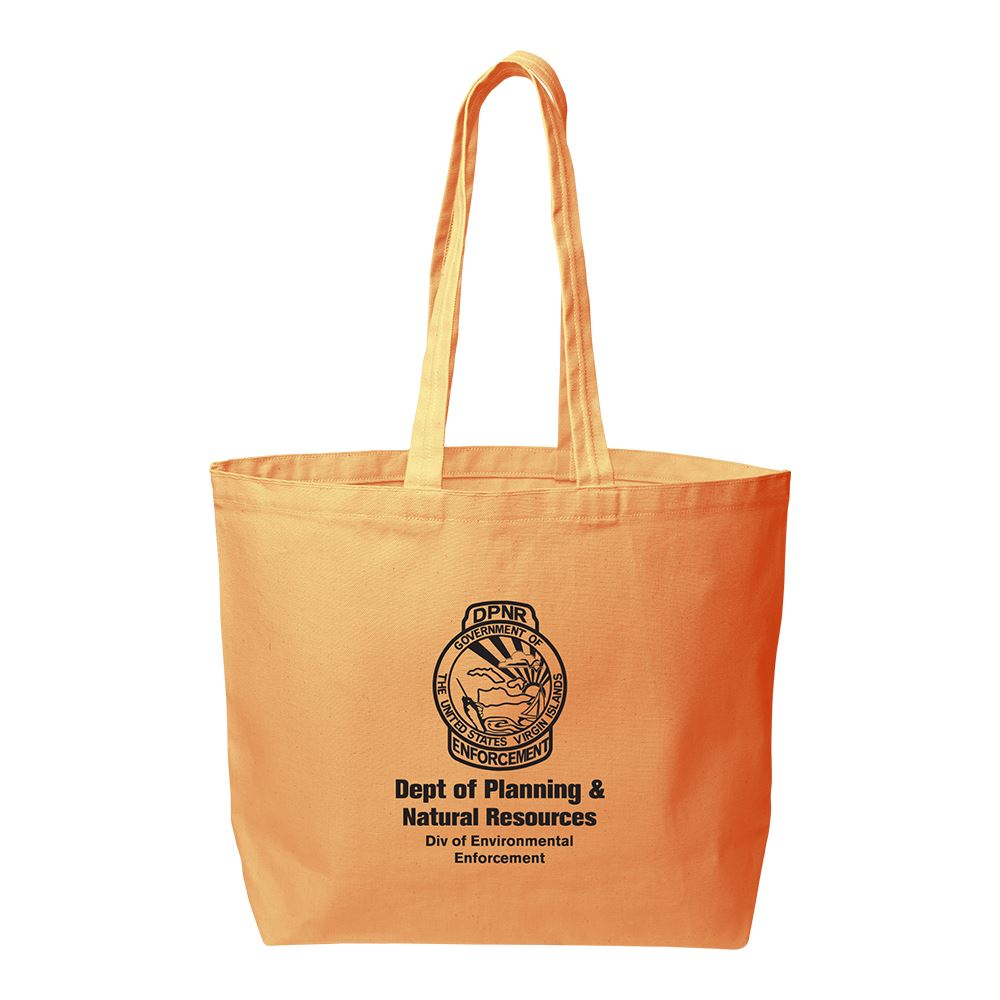 Continued Daily Grind Super-Size Tote - Colored Canvas - Personalization Available