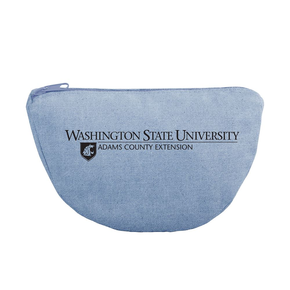 Continued Wedge Tote - Denim Canvas - Personalization Available
