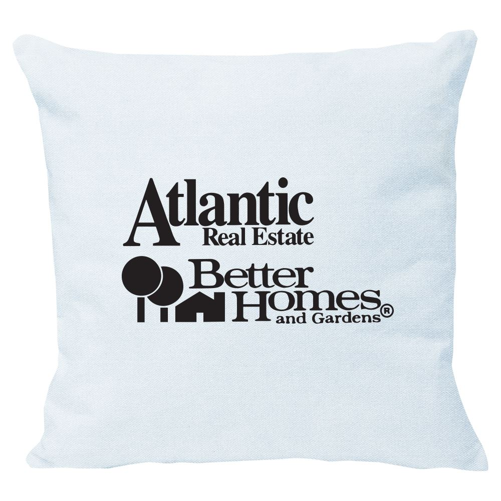 Continued Cuddlebug Throw Pillow - Medium - Denim Canvas - Personalization Available