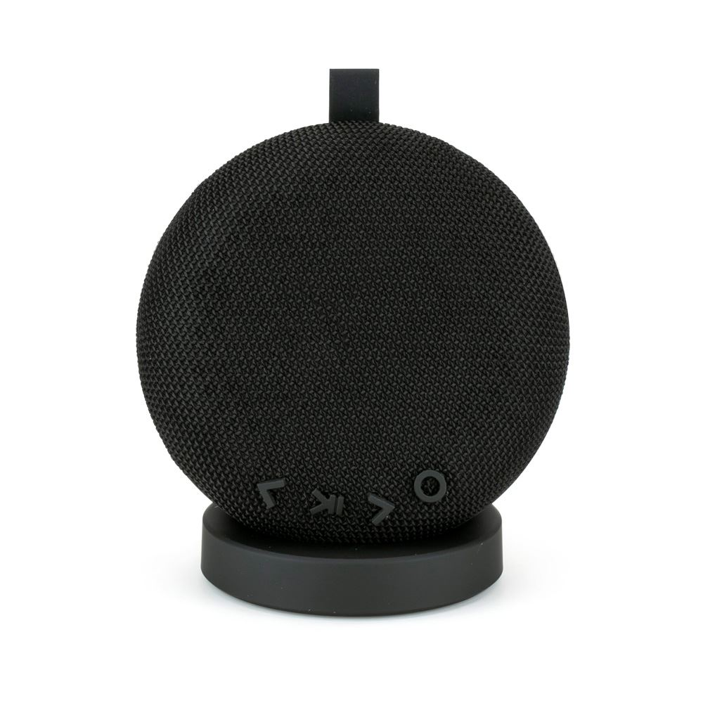 Wireless Fabric Speaker with Portable Charging Dock - Personalization Available
