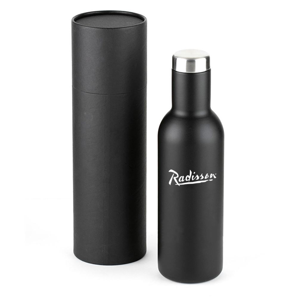 Santa Fe Wine Growler with Premium Gift Box - Personalization Available