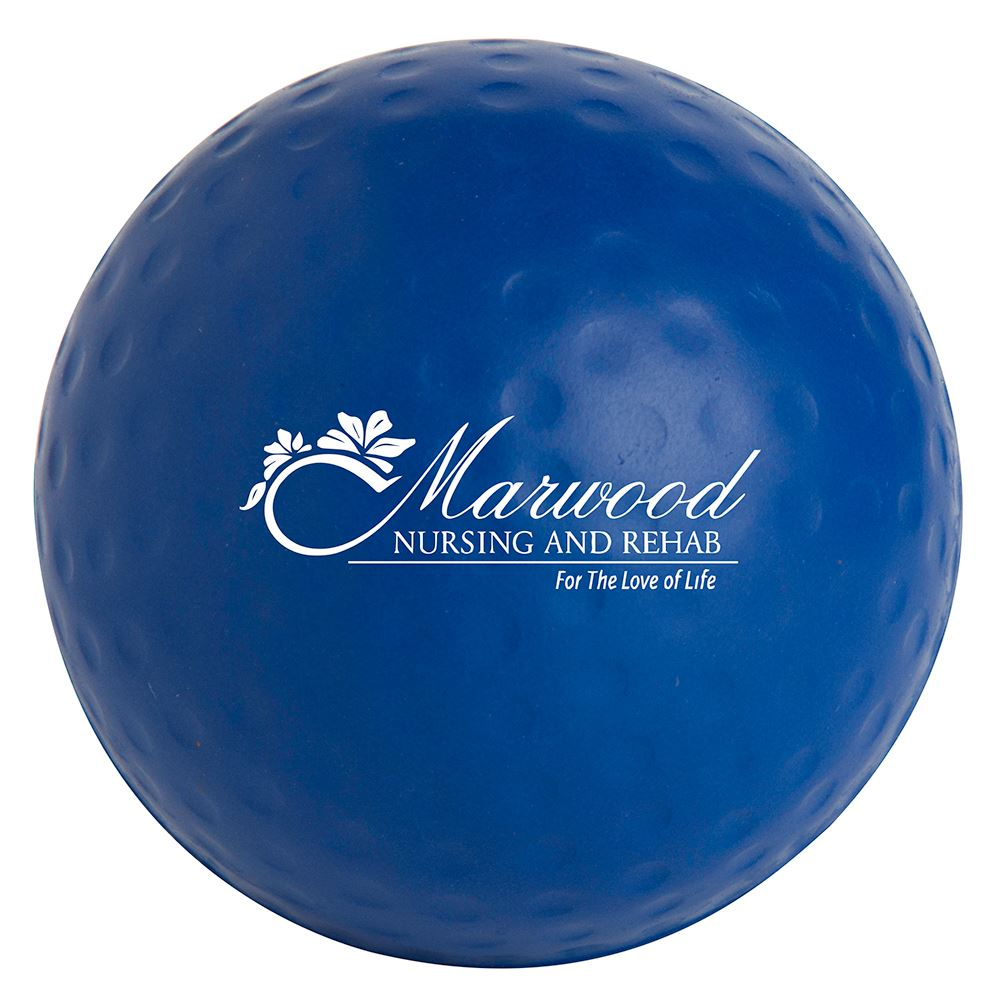 Golf Ball Stress Reliever - Personalization Available