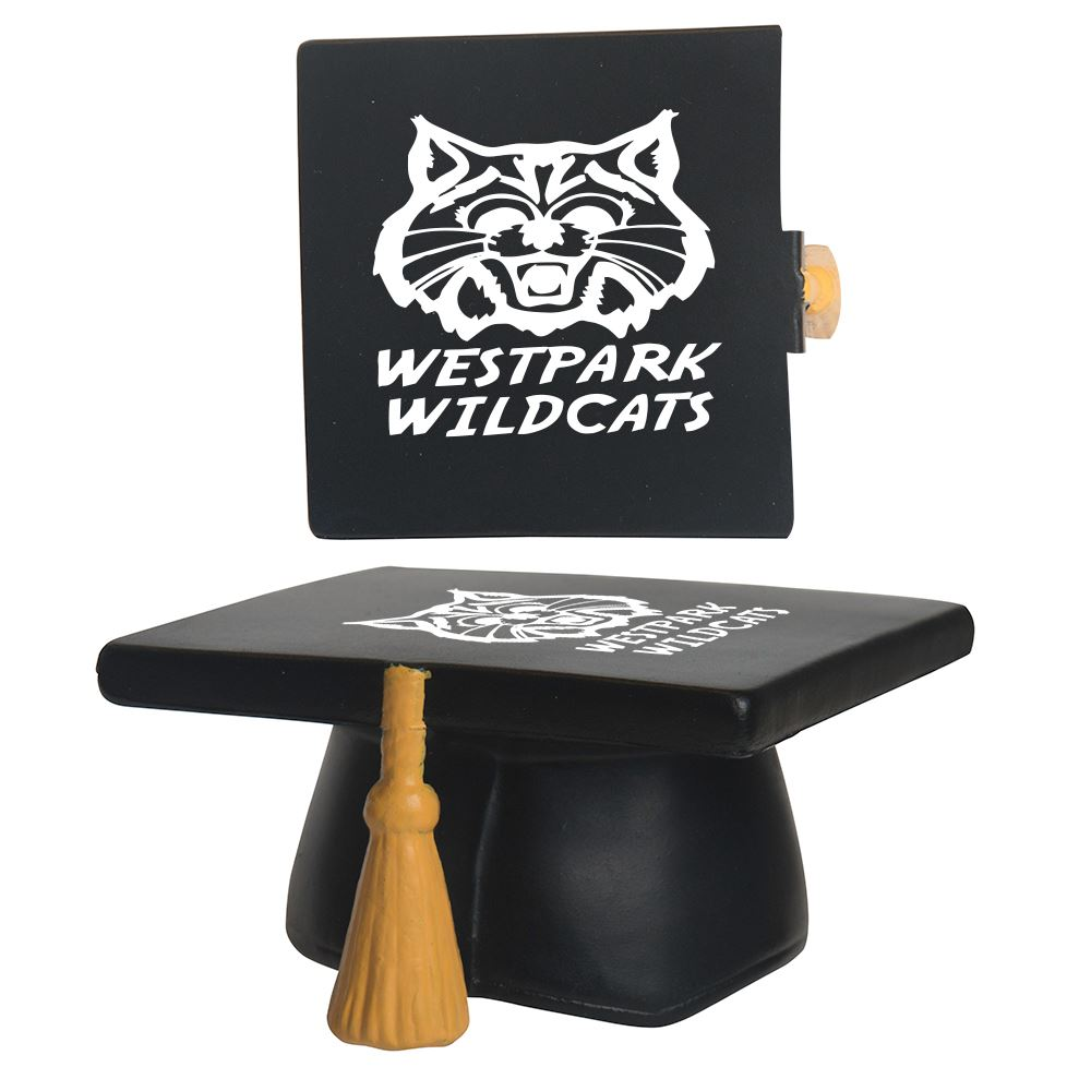 Graduation Hat Stress Reliever - Personalization Available