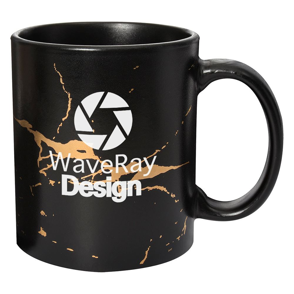 Expressionist Stoneware Mug - 11 oz. - Personalization Available
