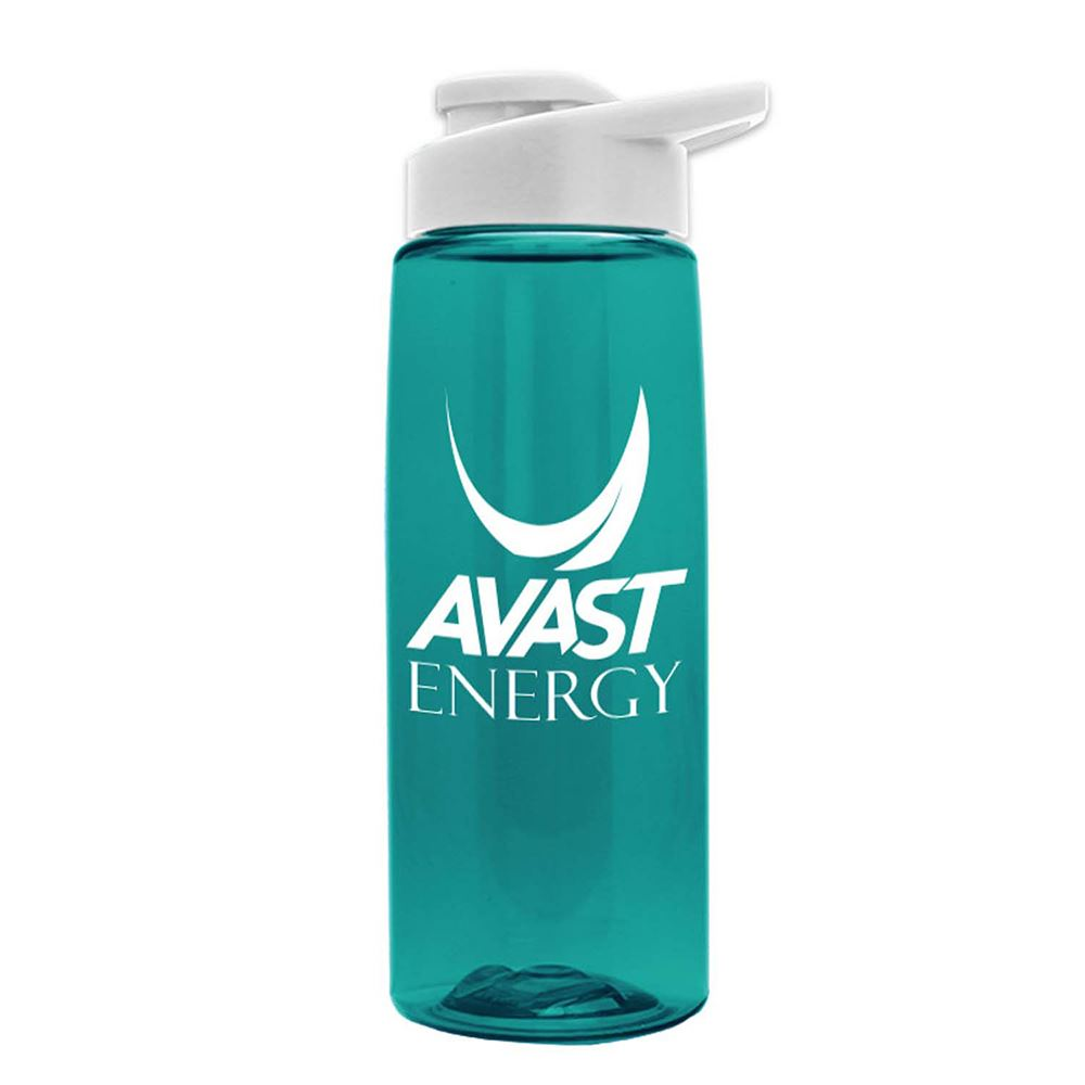 Tritan Flair Water Bottle With Drink Thru Lid 26 oz. - Personalization Available