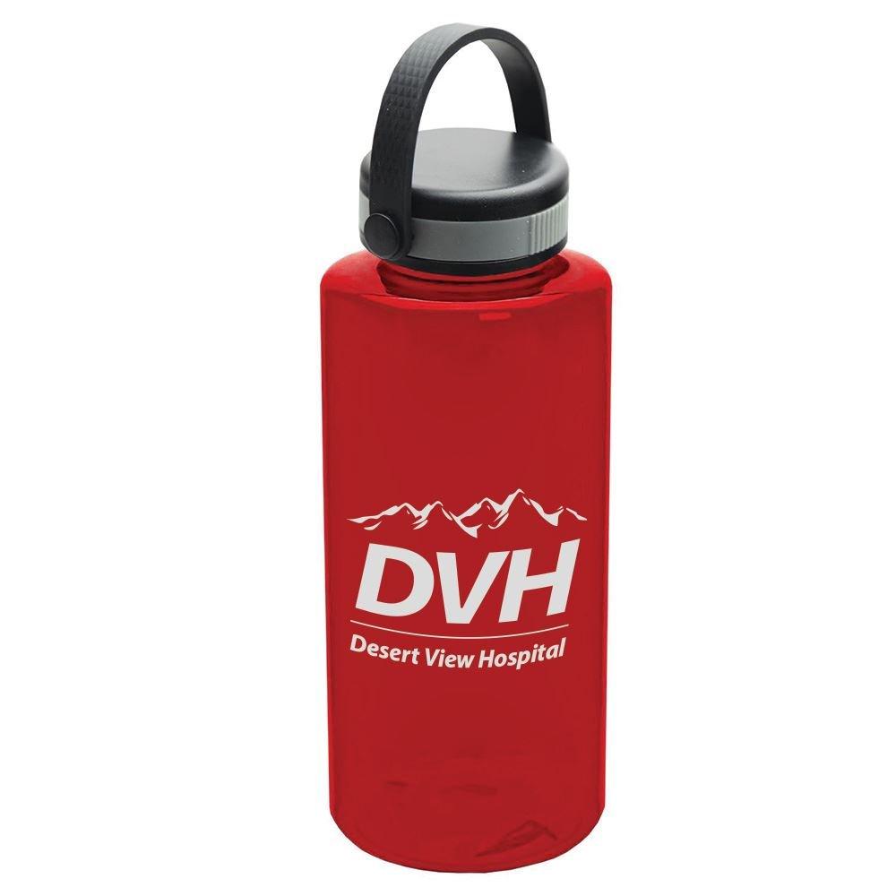 Tritan Mountaineer 36 oz. Water Bottle Ez Grip Handle Lid - Personalization Available