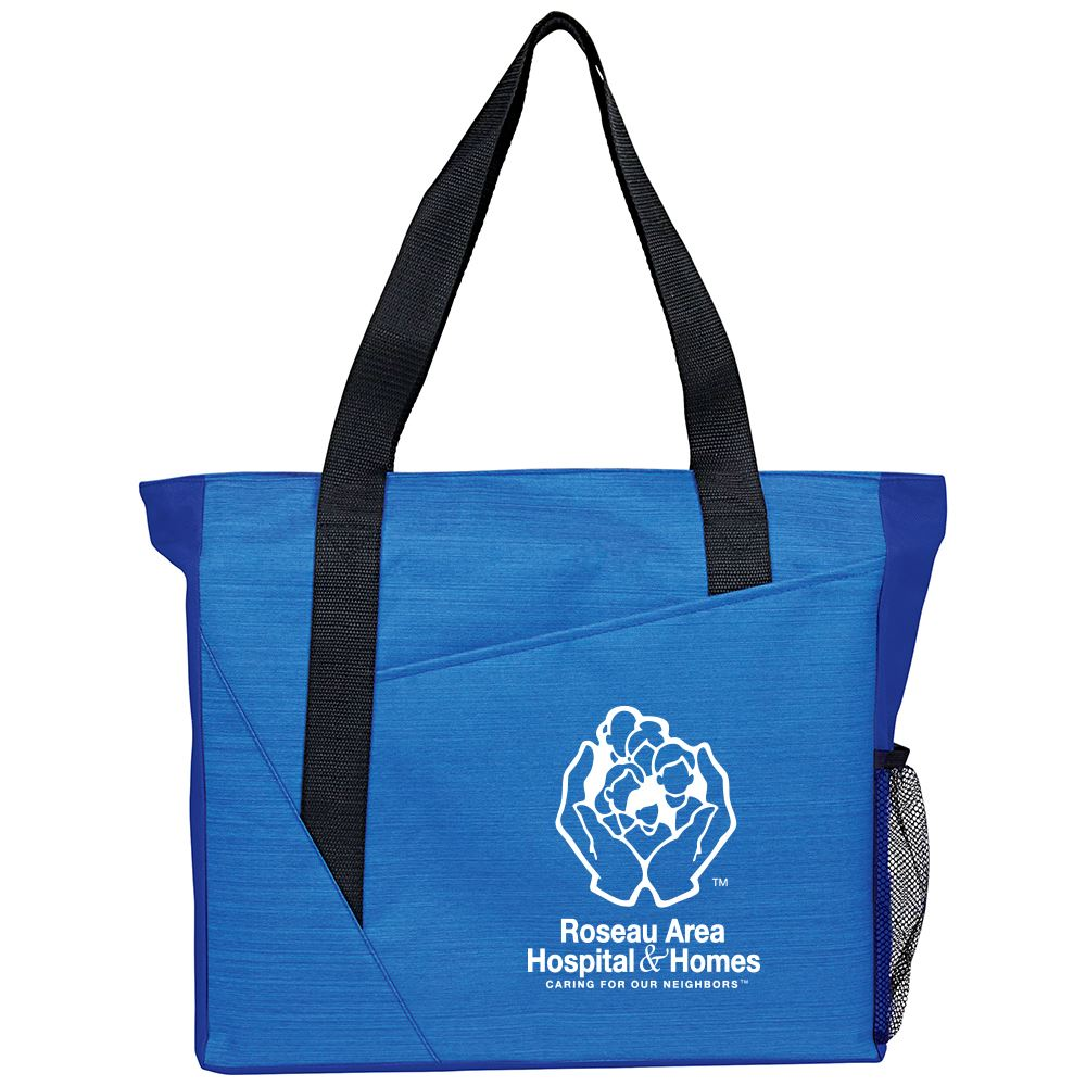 Slash Zippered Meeting Tote - Personalization Available