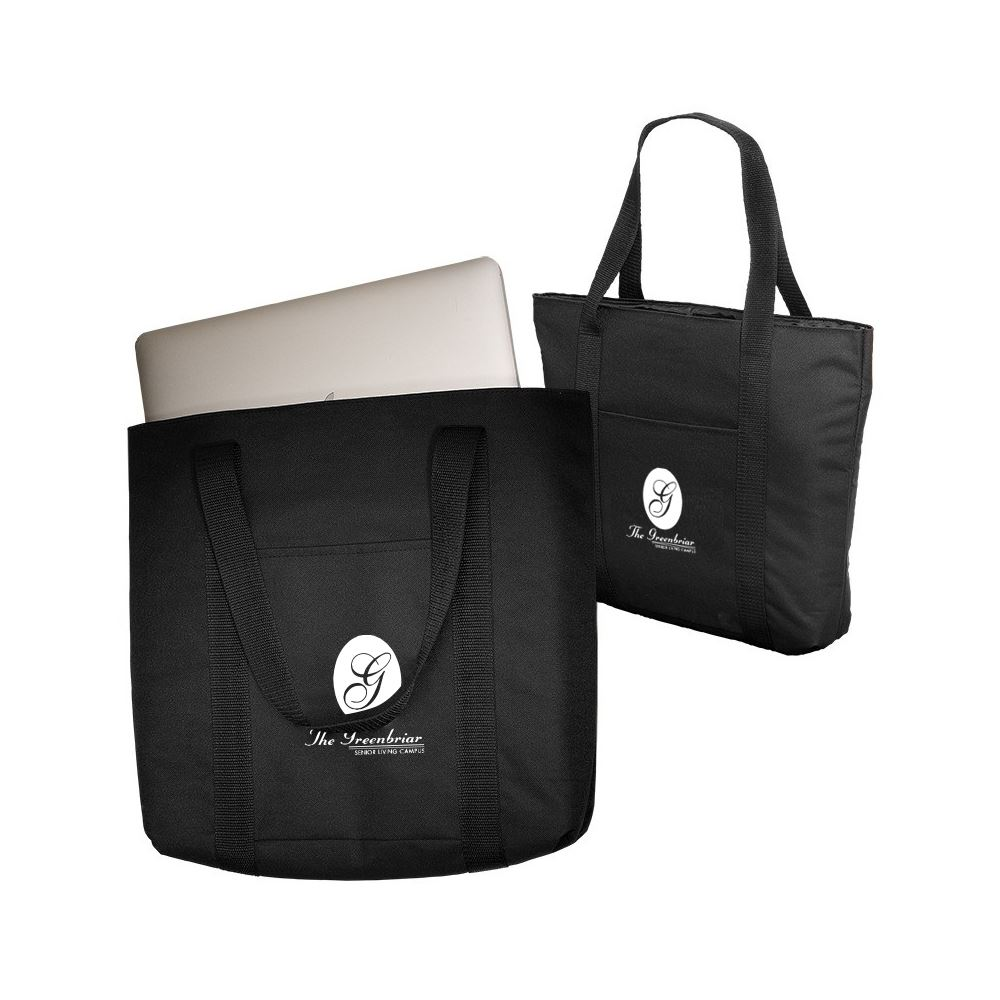 Budget Laptop Tote - Personalization Available