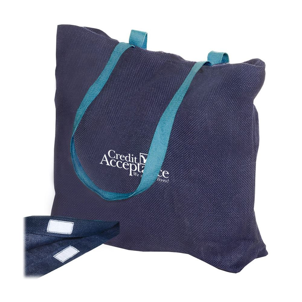 Eco-Friendly Jute Tote - Personalization Available