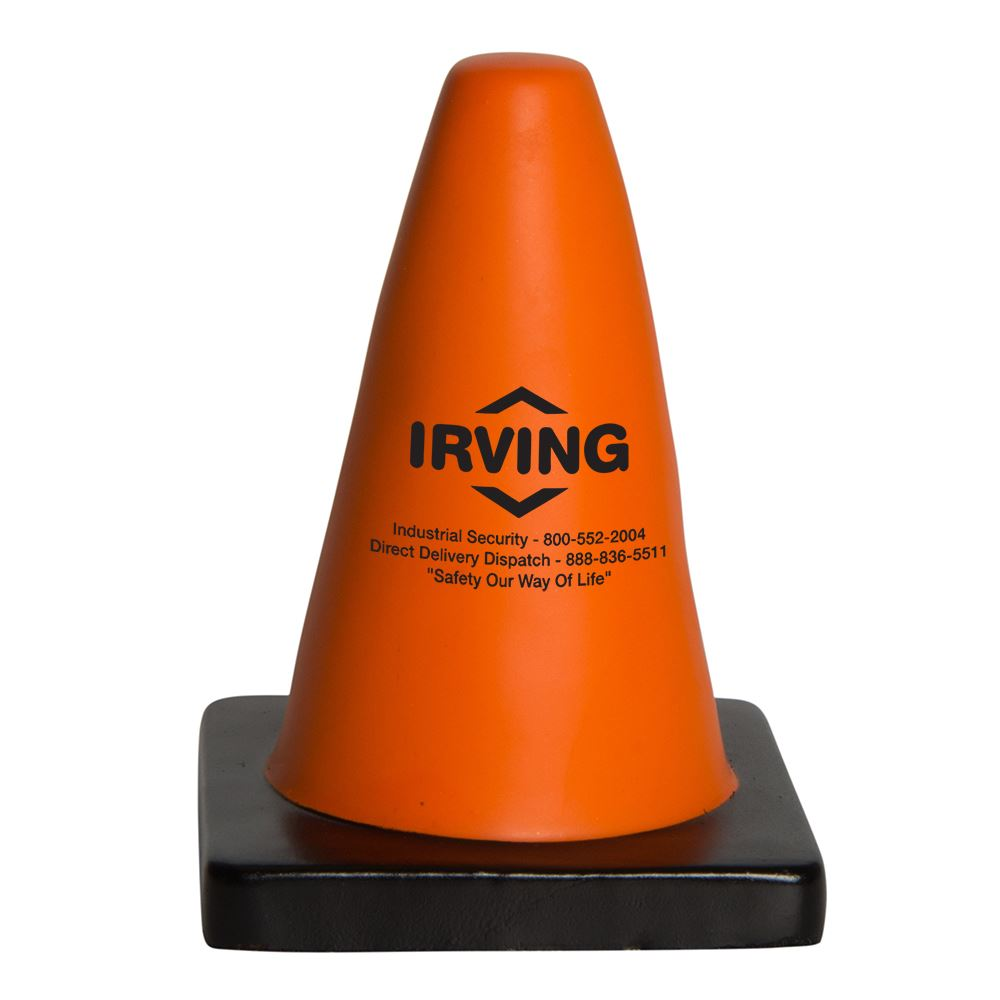 Construction Cone Stress Reliever - Personalization Available