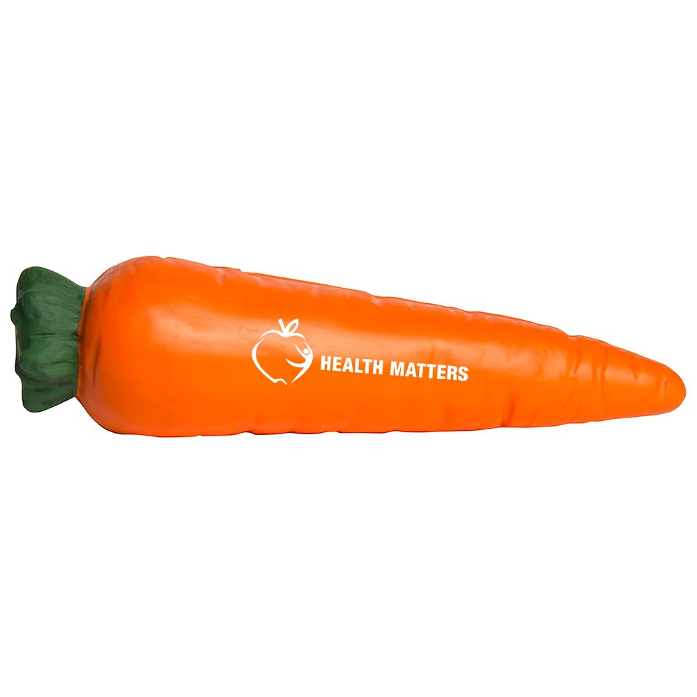 Carrot Stress Reliever - Personalization Available