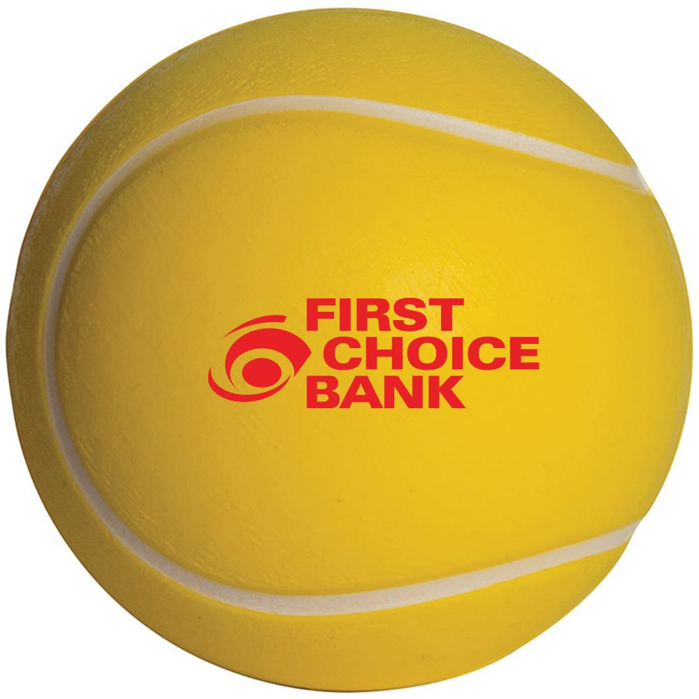Tennis Ball Stress Reliever - Personalization Available