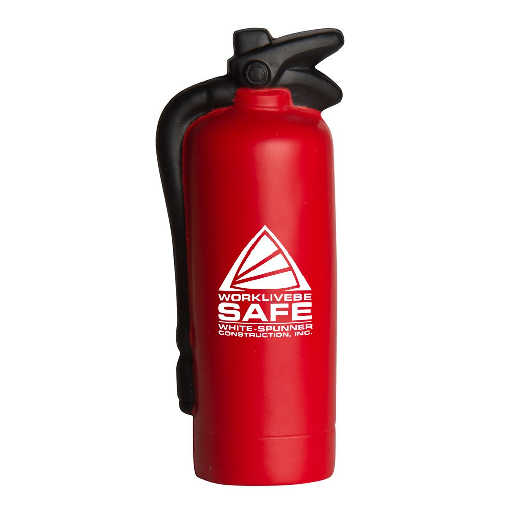 Fire Extinguisher Stress Reliever - Personalization Available
