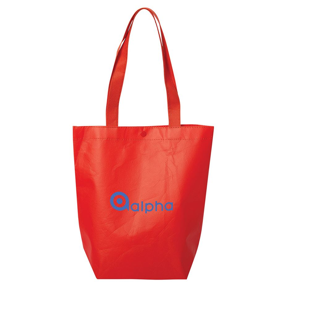 Roxbury Laminated Tote Bag - Personalization Available