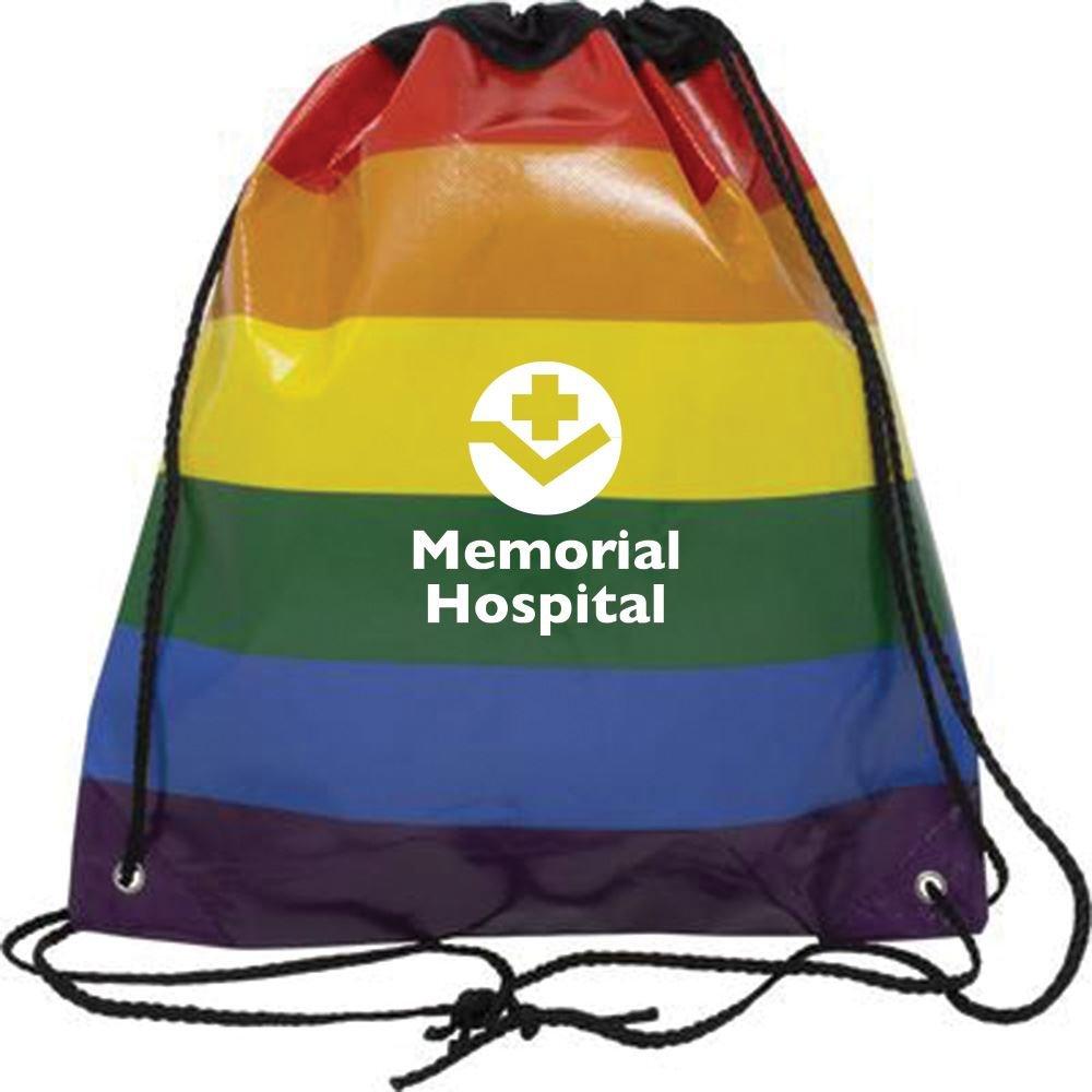 Jumbo Rainbow Backpack - Personalization Available