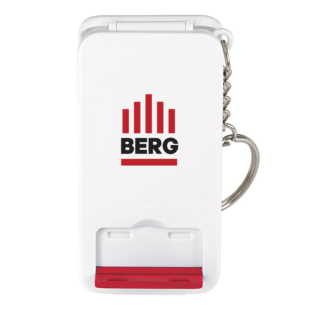 Keyring Multifunction Charging Cable With Stand - Full Color Personalization Available