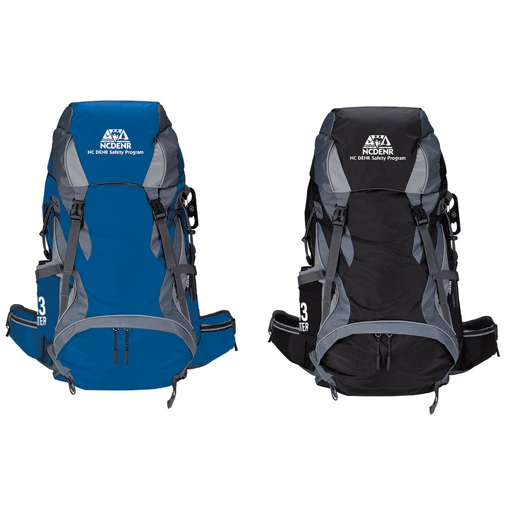 Koozie Adventure 43L Hiking Backpack - Personalization Available
