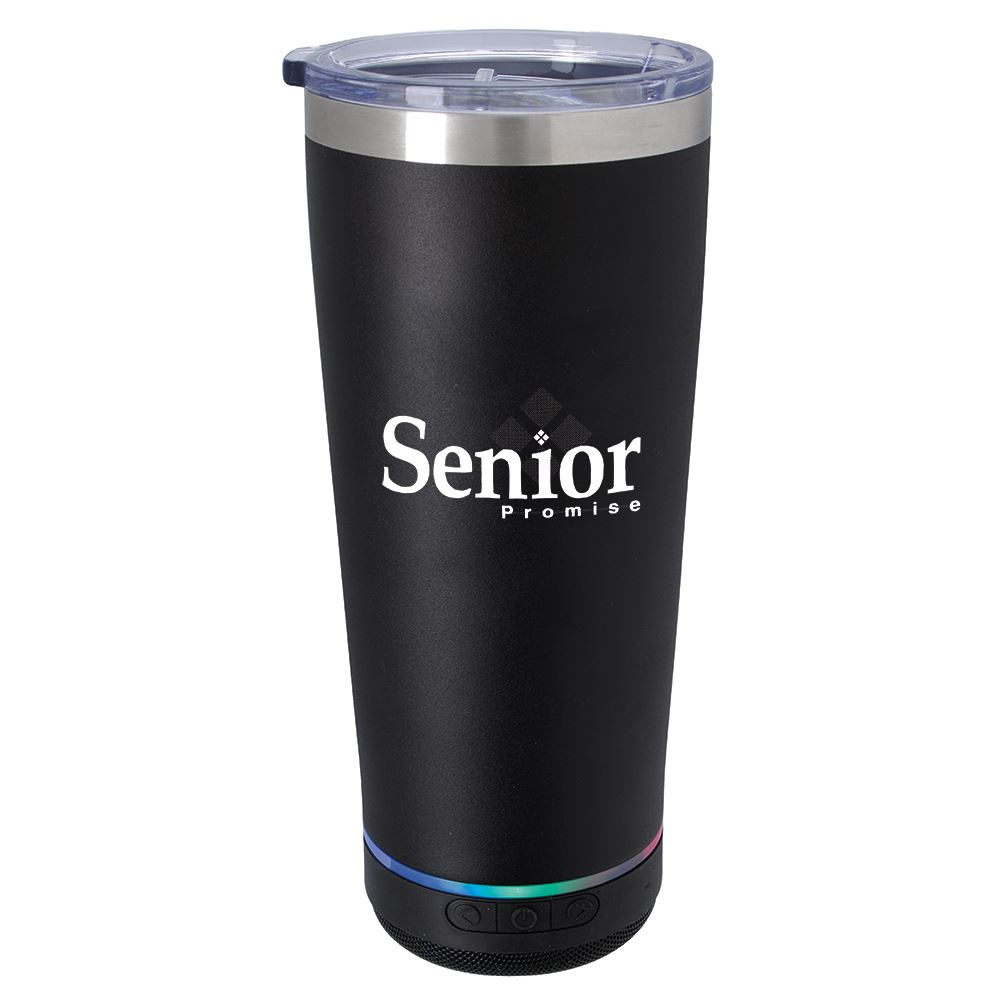 Tumbler With Bluetooth Speaker 20 oz. - Personalization Available