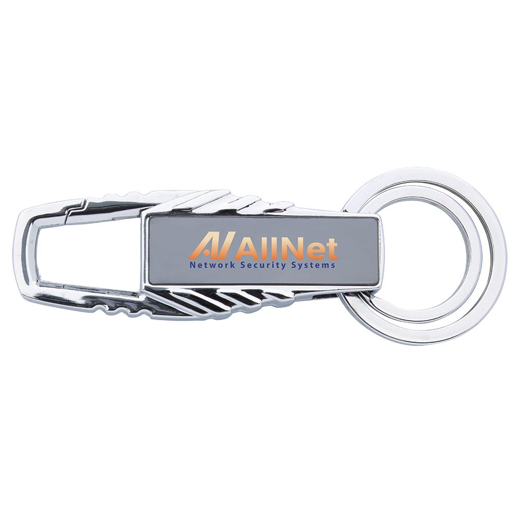 Two Rings Key Holder - Full Color - Personalization Available