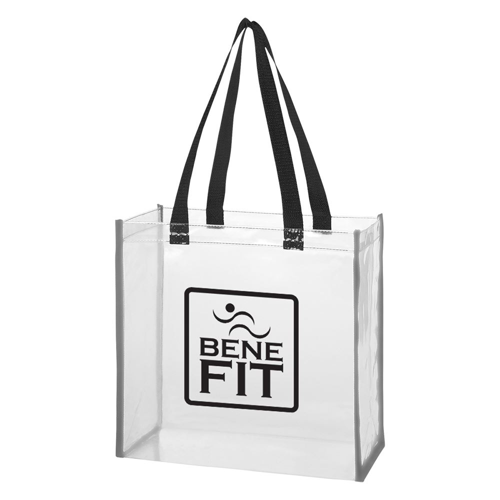 Clear Reflective Tote Bag - Personalization Available